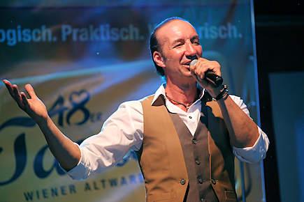 Sessions Band auf der Donaupark Bühne